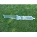 Verveux en forme de D à aile centrale 2,25m