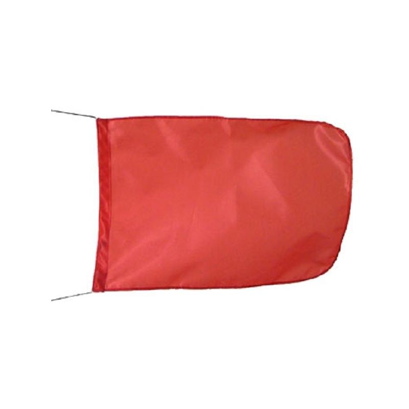 Drapeaux de signalisation rouge