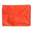 Drapeaux de signalisation orange