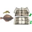 Nasse pliable Poissons plats Homards Crabes