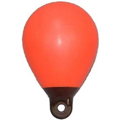 Bouée gonflable de repérage orange.