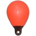 Bouée gonflable de repérage rouge