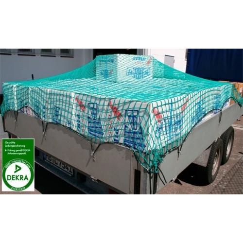 filet de protection remorque 2,50m X 4,50m maille 45mm