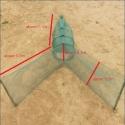 Verveux à deux ailes maille 2mm lg 1.80 mètres environ pour pêche scientifique, pisciculture etc