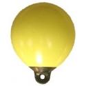 Bouée gonflable de repérage jaune